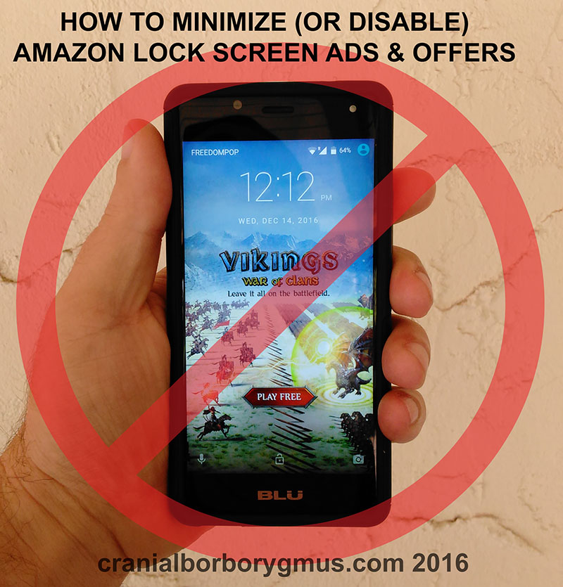 How To Disable or Remove Amazon Lock Screen Ads 2017